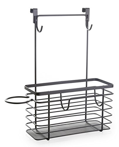 BINO Large Over-the-Cabinet Hair Care Organizer, Bronze