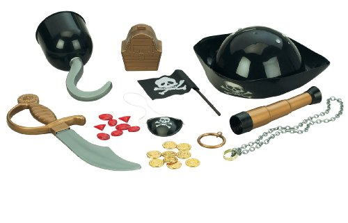 Small World Toys Ryan's Room - All Decked Out Pirate Play Set (Costume Pirate Toy)