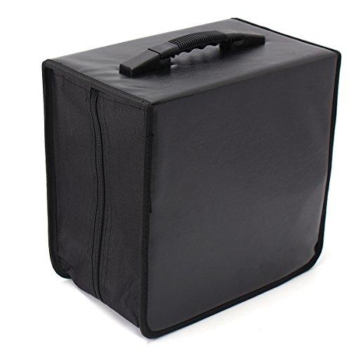 - 520 Discs CD DVD DJ Wallet Holder Bag Case Album Organizer Media Storage