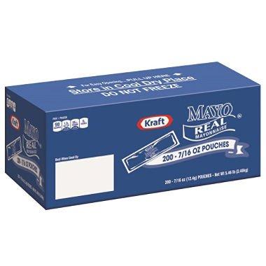 Kraft Mayo Packets, 5.46 Pound