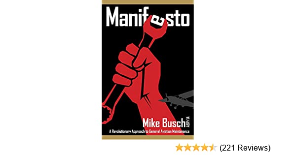 manifesto a revolutionary approach to general aviation maintenance