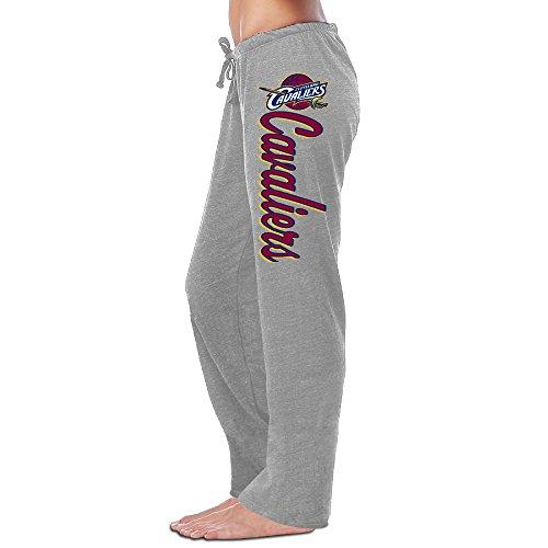 Women's Cleveland Cavaliers Sweatpants Ash Size M