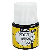 Pebeo Vitrail Glass Paint 45Ml Yellow