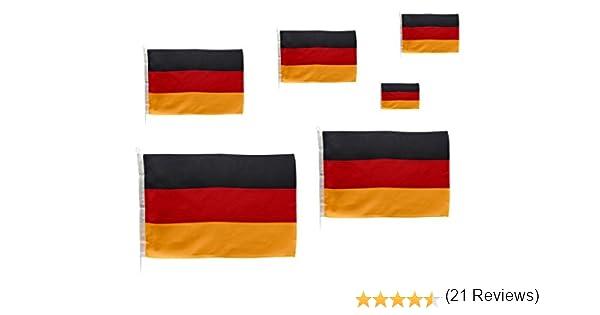 Navyline Bandera de cortesía pabellón Civil Alemania 6 tamaños: Amazon.es: Deportes y aire libre