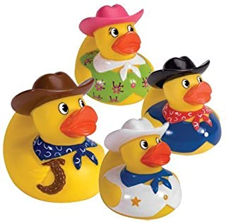 Cowboy Rubber Duck (only one included) by Schylling