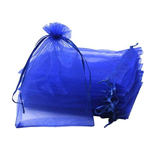 UHANGETH 100pcs Organza Bags Gift Party Wedding