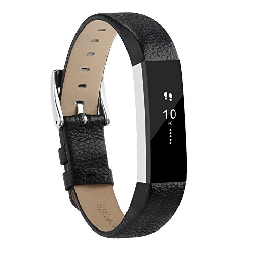 For Fitbit Alta Bands and Alta HR Bands Leather Replacement Wrist Bands for Fitbit Alta HR and Fitbit Alta