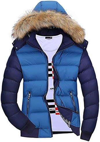 ダウンジャケット メンズ 切り替え パーカー 羽毛 フード付き ハイネック 冬 分厚い アウター フライトジャケット