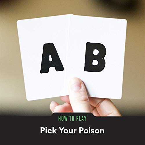 Pick Your Poison Adult Card Game - The Would You Rather...? Adult Party Game [NSFW Edition]