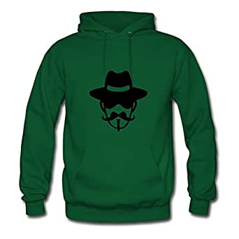 Fashionable Regular Custom Long-sleeve Musketeer Women X-large Green Hoody