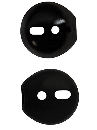 AirPod Skins & Ear Tips Bundle - Silicone Ear Tips With Protective Wraps - Style & Comfort For Your AirPods (Matte Black) Photo #6
