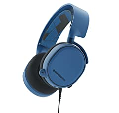 Arctis challenges everything you know about gaming headsets with completely overhauled audio, a new mic design with unmatched clarity, and improved comfort with materials inspired by athletic clothing. Arctis 3 brings pure performance and sty...