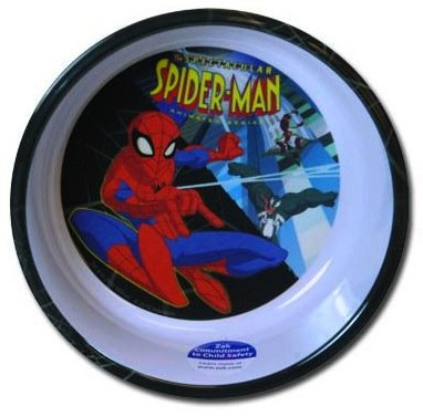 (Marvel Small Spiderman Bowl - Childrens Cereal Bowl)