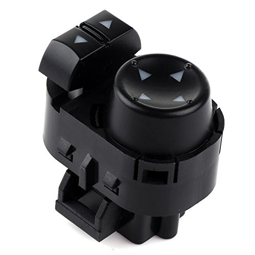 Power Mirror Switch Replacement fit for 2007-2013 Chevy Silverado 1500 2007-2014 Chevy Silverado 2500 HD 2007-2013 GMC Sierra 1500 2007-2014 GMC Sierra 2500 HD 3500 22883768