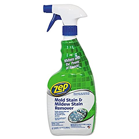 ZEP Mold Stain and Mildew Stain Remover, 32 Ounce (Zep Stain Remover)