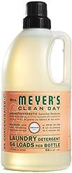 Mrs. Meyer's Clean Day Laundry Detergent, Geranium, 64 fl oz