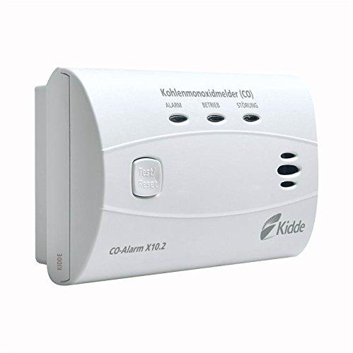 Kidde 13776 CO-Alarm X10.2 (Kohlenmonoxidmelder), Weiß