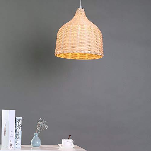 Arturesthome Handmade Nordic Lamp Woven Basket Handmade Ceiling Lighting