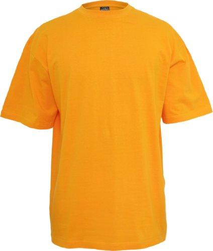 Urban Classics Herren TB006 großes T-Shirt Kurzarm T-Shirt XXL orange