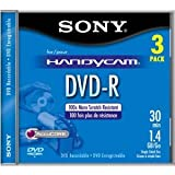 Sony 8-cm. DVD-R-Camera - 3-pk.