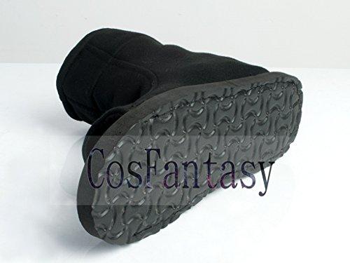 CosFantasy Japan Classic Anime Black Shippuden Ninja Shoes Cosplay Unisex mp000563 (EUR 36) by CosFantasy (Image #4)