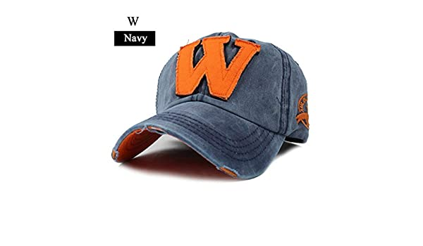 FLAMINGO_STORE Cap for Men and Women Gorras Snapback Caps Baseball Caps CapW Navy at Amazon Mens Clothing store: