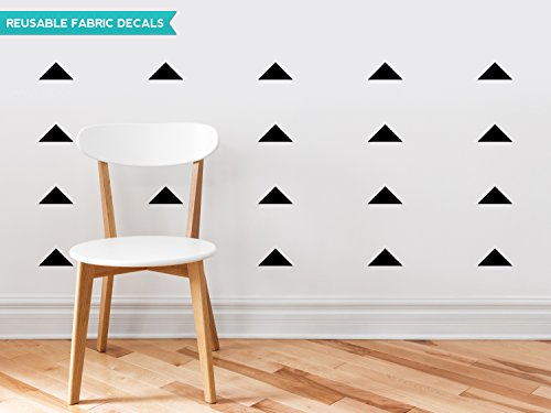 Sunny Decals Triangle Fabric Black