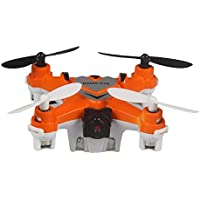 Owill X-1506W Hawk Eye Drone 2.4G 4CH 6-Axis Mini RC Gyro Quadcopter With WIFI Camera (Orange)