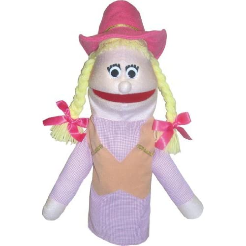 Cowgirl Puppet by Get Ready Kids