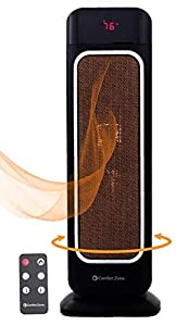 Comfort Zone Oscillating Space Heater
