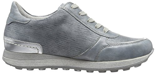 Azul Blue D1800 10 Mujer Zapatillas Blue Remonte Argento para 0vIOIw
