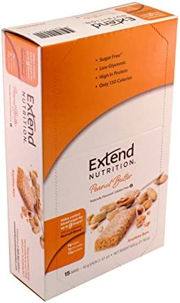 Extend Bar, Peanut Butter 1.41 oz. Bars Pack of 15