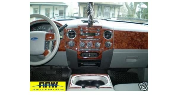 Ford F-150 F150 F 150 Interior BURL Wood Dash Trim KIT Set 1999 2000 2001 2002 2003