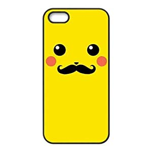 Pokemon Lovely Pikachu for Iphone5 Leather Rubber Cover Case-Creative New Life