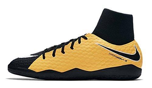 Nike Men's HypervenomX Phelon III Dynamic Fit (IC) Indoor/Court Football Boot Size 9.5