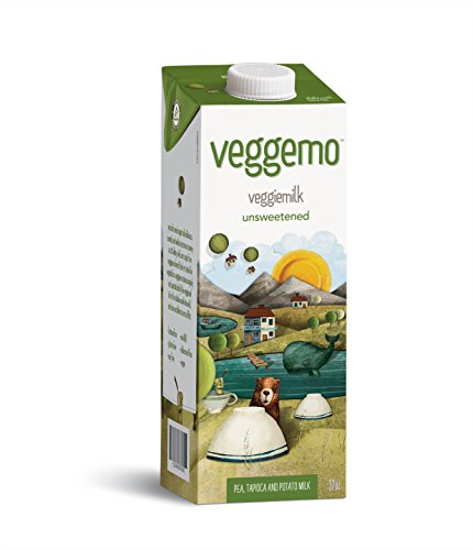 Veggemo Unsweetened Veggie Based Non-Dairy Milk 32 Ounce, Pack of 3