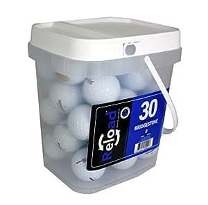 Golf Balls 30 Ball Bucket, Yellow