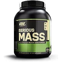 Optimum Nutrition Serious Mass Weight Gainer Protein Powder, Vanilla, 6 Pound