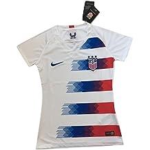 Mallnkakova Women's USA National Team 2018-2019 Home Soccer Jersey White