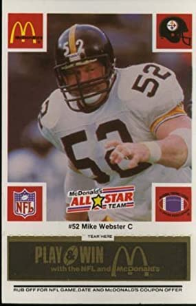 Image Unavailable. Image not available for. Color  Mike Webster - Pittsburgh  Steelers ... e9cb95ffa