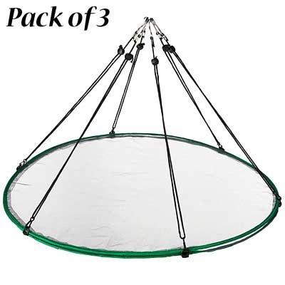 BestNest Pack of 3 Songbird Essentials Seed Hoops, 30'' Dia. Each