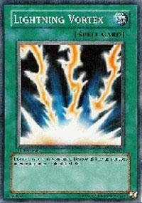 Yu-Gi-Oh! - Lightning Vortex SD6 (SD6-EN028) - Structure Deck 6: Spellcaster's Judgment - 1st Edition - Common