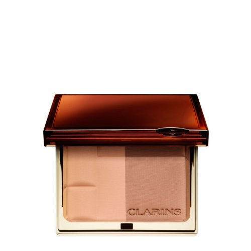 Clarins Bronzing Duo SPF 15 Mineral Powder Compact 01 light Sun-Swept Radiance color: 01 light, size: 10 g,