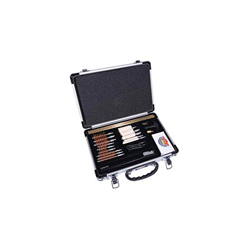 Gunmaster Universal Select 22 Caliber Aluminum Case Gun Cleaning Kit (30-Piece), Large