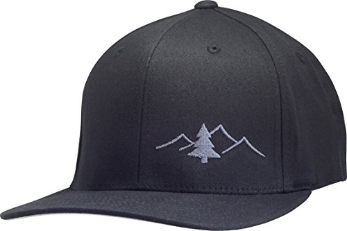 - Lindo Flexfit Pro Style Hat - The Great Outdoors (Black w/Graphite: L/XL)