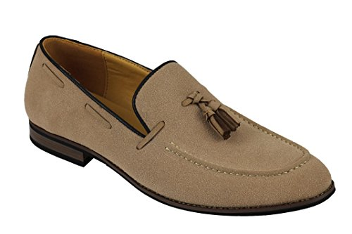 Xposed - Mocassini uomo, marrone (Tan), 40 EU