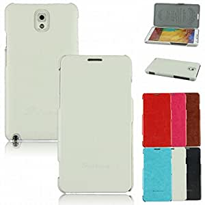 dzt1968 Stylish Book Style Flip High Quality PU Leather Holder Case Cover for Samsung Galaxy Note 3 III N9000