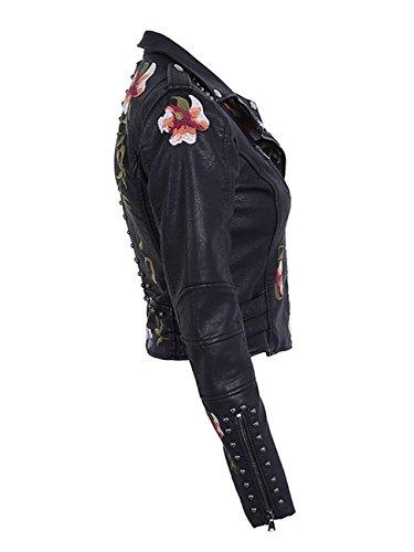 Qingfang Donna Black Donna Giacca Qingfang Giacca Black Black Giacca Donna Qingfang Qingfang FU4qp