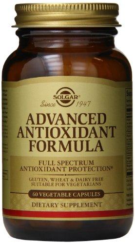 Solgar Advanced antioxydant Formula gélules végétales, comte 60