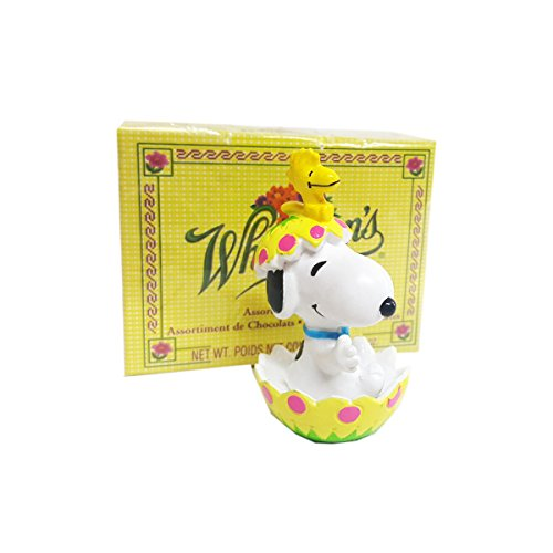 Peanuts Whitman's Snoopy & Woodstock EASTER Egg Hatch Figure